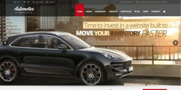 Automotive Car Service WordPress Themes - Template7