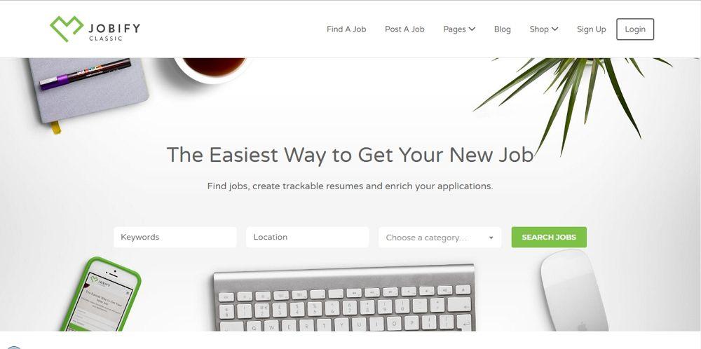 Jobify - WordPress Job Board Theme - Template7