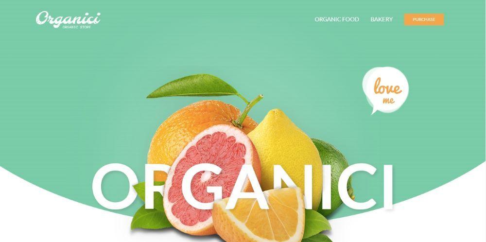 Organici - Organic Store & Bakery WooCommerce Theme - Template7