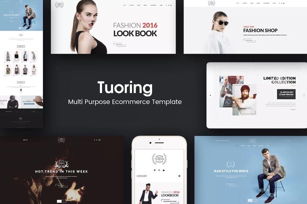 Tuoring - Multipurpose Responsive Prestashop Template7