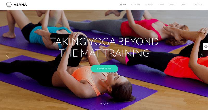 Asana - Sport and Yoga WordPress Theme-Template7