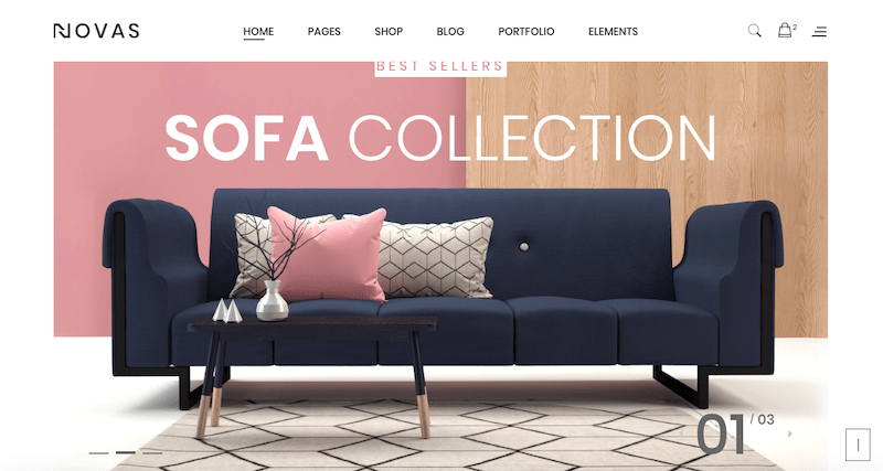 Novas | Furniture Store and Handmade Shop HTML5 Template7